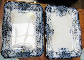 Victorian Roasting Platter