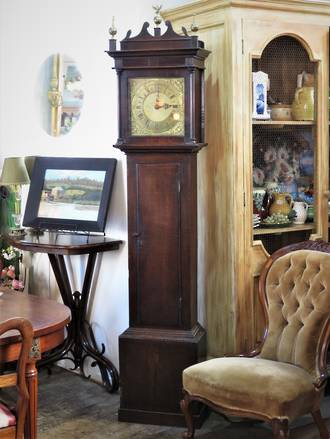 18th Century Grandmother Clock - Working Order $4950.00