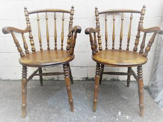 Antique Carver Chairs SOLD