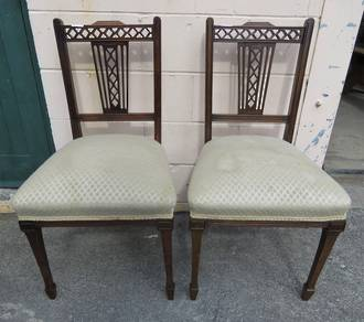 Pr Edwardian Chairs