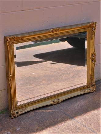 Vintage Gilt Mirror - Victorian Revival - $750