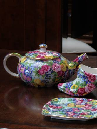 Royal Winton Chintz Teapot - Julia