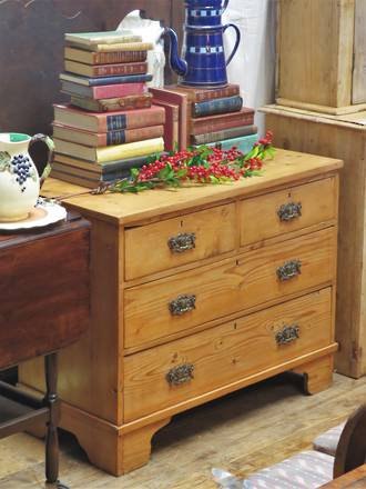 Antique Baltic Pine Chest of Drawers $1350