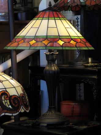 Vibrant Lead-lite Table lamp $485