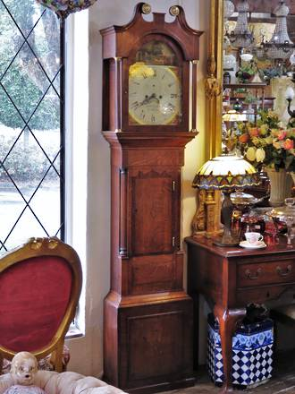 18th Century Grandfather Clock $5500.00
