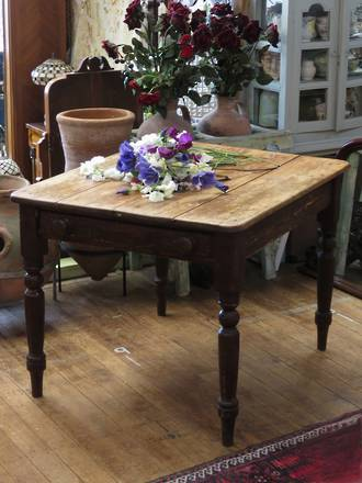 Small Antique Rustic Dining table SOLD