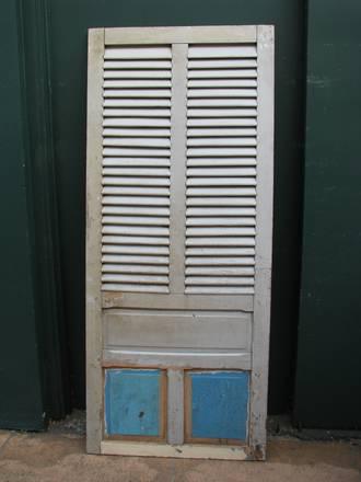 Antique French Shutter Single Door $950.00