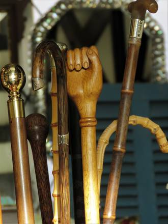 A Fine Selection of Antique Walking Sticks $67 - $185