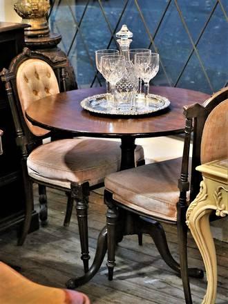 Early Oak Tilt-Back Table Circa 1720  - $1595
