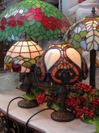 Tiffany lamps