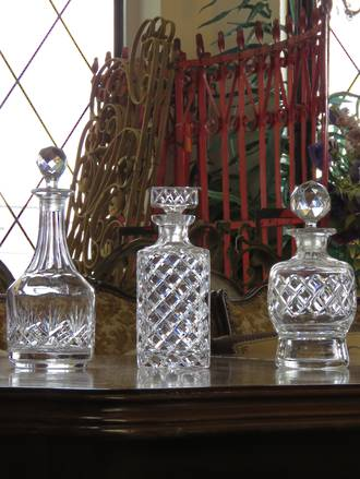 Crystal Decanters