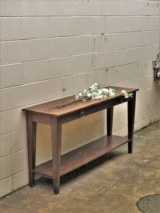 Long Narrow Table Baltic pine $1650