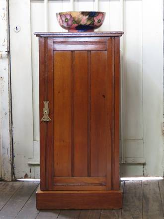 English Walnut Bedside Cupboard sold
