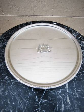 Vintage Silver Plated Cake Stand $225.00
