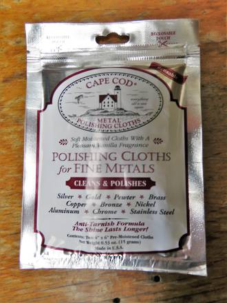 Cape cod Polishing Cloths for Fine Metals