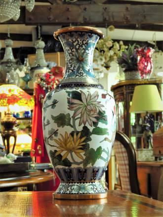 Vintage Cloisonné  Vase $395