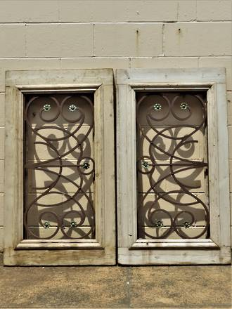 European Window Grilles - Antique Architectural Salvage