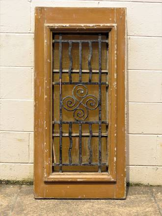 Antique Architectural Salvage Window Grill $650