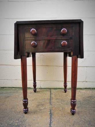 Antique Pembroke Table $1150