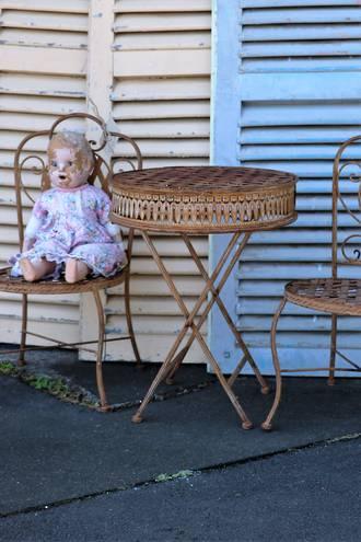 Vintage Child Size Cafe Set - 3 Piece $450.00 3pc set