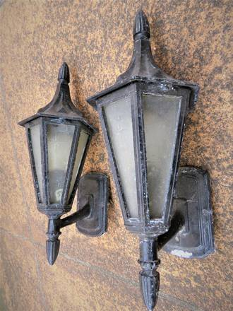 Vintage Out Door Lights $225 each