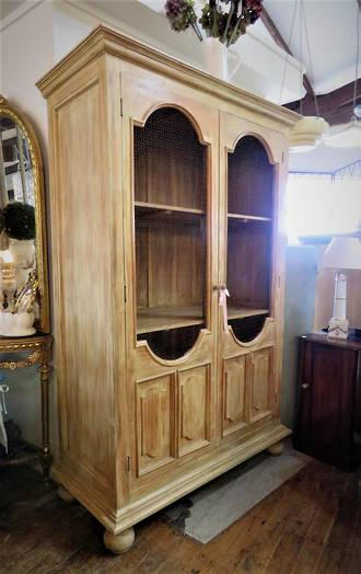 Large Oregon Pine Wardrobe or Linen Press Cupboard $3950