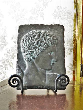 Vintage Greek Marble plaque