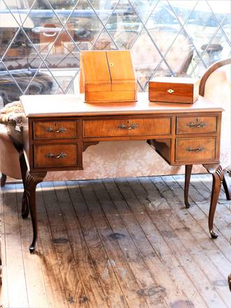 French Walnut Desk $1595.00
