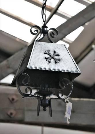 Original Wrought Iron French light