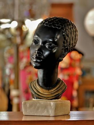 1930s African Bust
