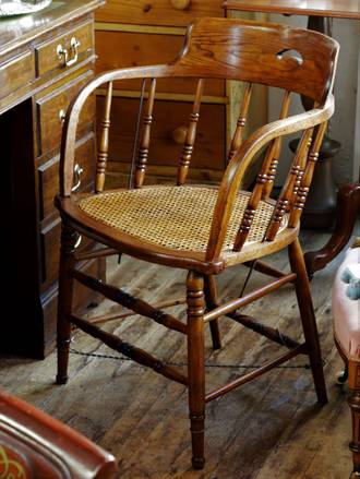 Antique Douglas or Captains Chair