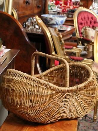 Large Willow Basket $225