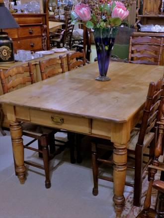 Colonial Farmhouse Kauri Dining Table $2750