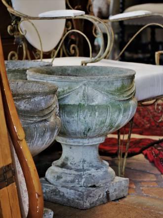 18th Century Concrete Urn (SOLD)