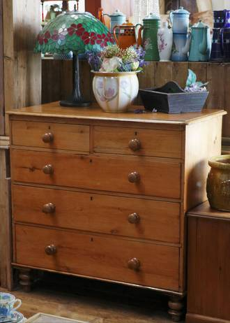 Baltic Pine Chest of Drawers $1850.00