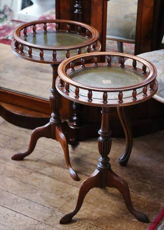 A Pair of Vintage Side Tables $599.00 pair