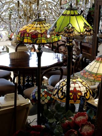 Standard Tiffany Style Lamps Sold out, more on order