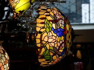 Tiffany standard lamp
