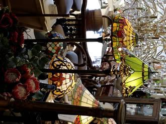 Tiffany Style Floor lamps $750 each