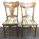 Set of 6 Antique Canadian Spindle back Chairs $1950.00