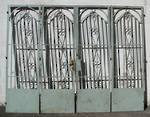 Iron Gates Bi folding SOLD