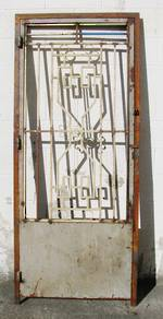 Decorative Security Grille for door $950