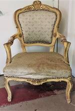 French Antique Arm Chair in Original Condition $950