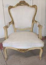 French Antique Arm Chair $950