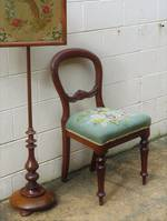 Victorian Balloon Back with Hand-Made Tapestry Seat SOLD