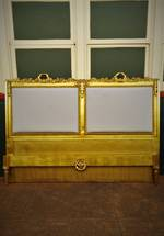 Rare King Size Antique French Gilt Bed  $3500.00