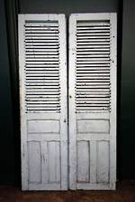 Antique French Shutter Doors $950.00 pair