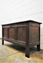 17th Century Oak Coffer  SOLD