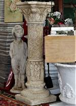 Concrete classical Style Plinths - Pair available $550 each