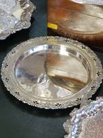 Edwardian Era Silver Plate Serving Tray $85